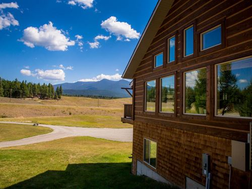 Ten Lakes Recreation Home : Eureka : Lincoln County : Montana