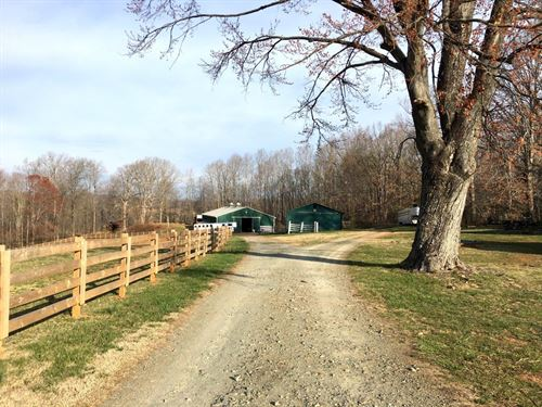For Sale Horse Farm 3.19 Acres : Glade Hill : Franklin County : Virginia