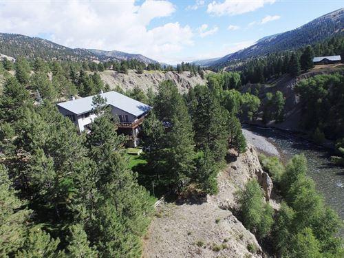Hidden River Home : Lake City : Hinsdale County : Colorado