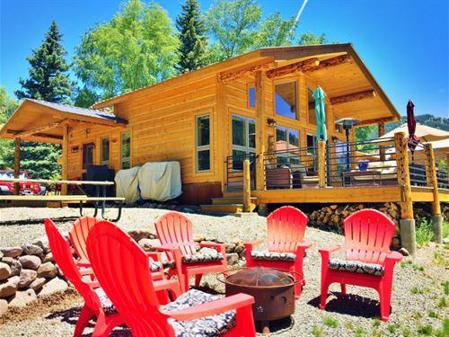 Vickers Ranch Riverfront : Lake City : Hinsdale County : Colorado