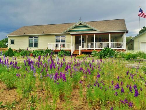 Country Splendor : South Fork : Rio Grande County : Colorado