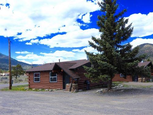 Successful Lodging Business : South Fork : Rio Grande County : Colorado