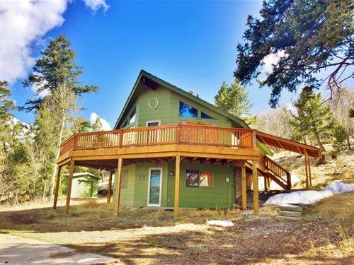 Blue Mesa Cabin : Powderhorn : Gunnison County : Colorado