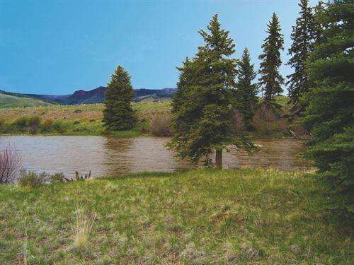 Vista Grande Riverfront : Creede : Mineral County : Colorado