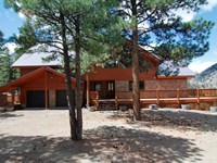 Luxury Mountain Home : Lake City : Hinsdale County : Colorado