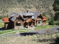 Elegant Mountain Style : South Fork : Rio Grande County : Colorado