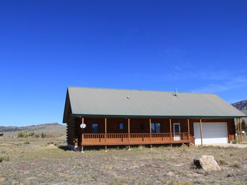 Getaway Log Cabin : Creede : Mineral County : Colorado