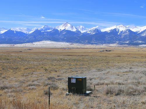 Shining Mountain Estate Lot 14 : Westcliffe : Custer County : Colorado