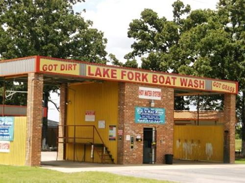 Lake Fork Texas Commercial Business : Alba : Wood County : Texas