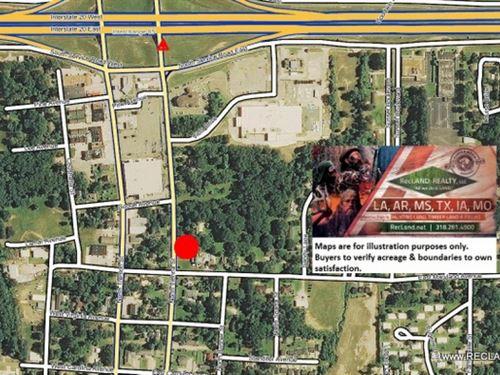 Lot - Vacant Lot In Ruston : Ruston : Lincoln Parish : Louisiana