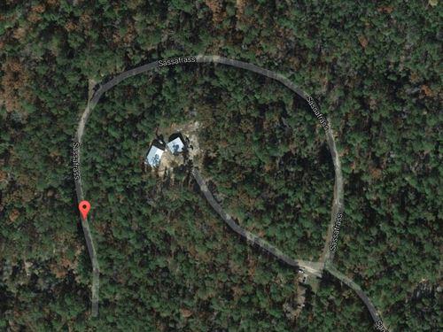Rayburn Country Resort Lot : Brookeland : Jasper County : Texas