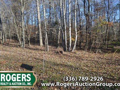 Subdivision Lot Investment Property : Elkin : Surry County : North Carolina