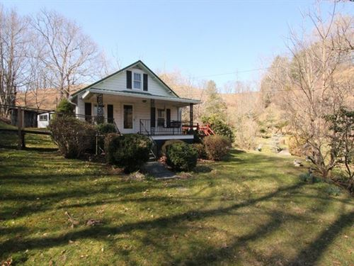 Mountain Cottage Near New River : Mouth Of Wilson : Grayson County : Virginia
