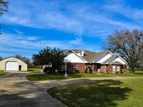 3/3.5 On 9+ Acres : Pickton : Hopkins County : Texas