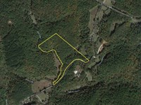 20 Acres With 1,800 Feet Of Fron : Sunset : Pickens County : South Carolina