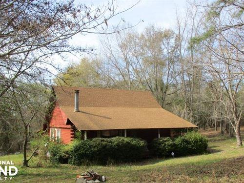 Lumpkin Cabin And 9.5 Acres : Lumpkin : Stewart County : Georgia