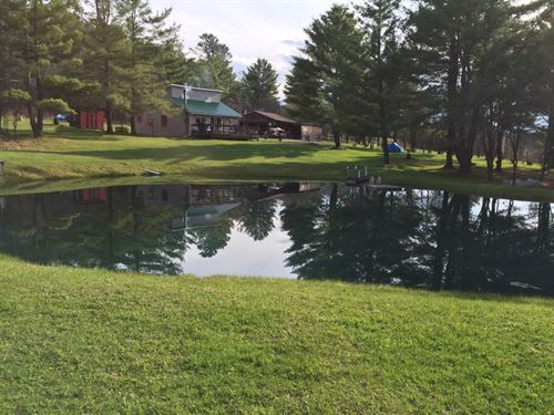House On 5 Acres Near State College : West Almond : Allegany County : New York