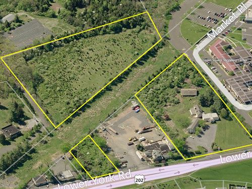 Highly Visible Commercial Land : New Hope : Bucks County : Pennsylvania