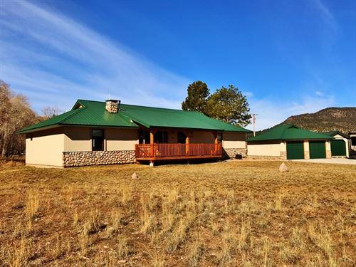 Jackson Heights Stucco Home : South Fork : Rio Grande County : Colorado