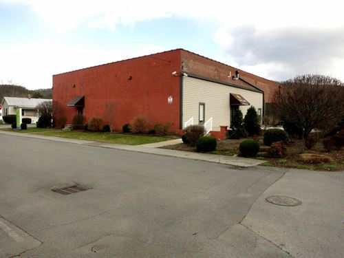 56,332 Sq. Ft. Industrial Building : White Sulphur Springs : Greenbrier County : West Virginia