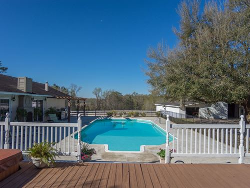 Mistletoe Farm : Varnville : Hampton County : South Carolina