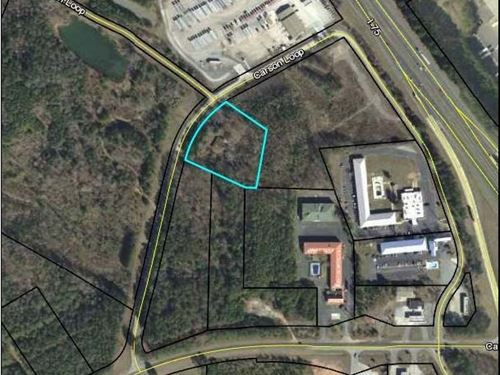 2.7131 +/- Commercial Acre Lot : Cartersville : Bartow County : Georgia