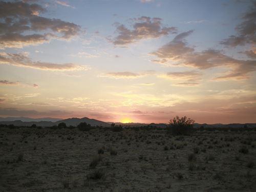 Serene Desert Sunsets. You Must See : Twentynine Palms : San Bernardino County : California