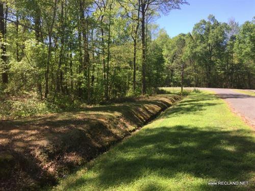 Lot Wooded Home Site Lot In Nice S : Swartz : Ouachita Parish : Louisiana