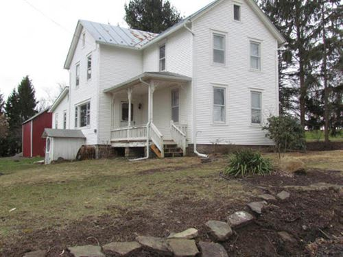 10.5 Acres, Home, Barn, Garage : Benton : Columbia County : Pennsylvania