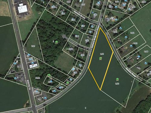 7 Acre Lot In Washington Township : Township Of Washington : Warren County : New Jersey