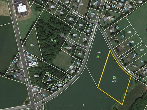 6.7 Acre Lot In Washington Twp : Township Of Washington : Warren County : New Jersey
