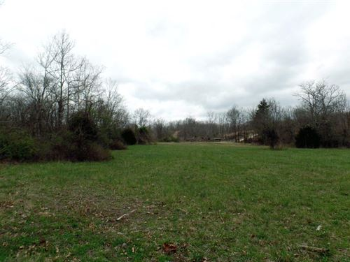 4 Acres Large Clearing, Creek Front : Cabool : Texas County : Missouri