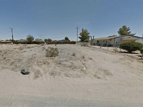 .23 Acres In California City, CA : California City : Kern County : California