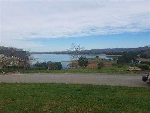 Building Lot Overlooking Lake : Russellville : Hamblen County : Tennessee