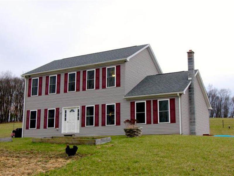 11+ Acres, Country Farmette : Bloomsburg : Columbia County : Pennsylvania