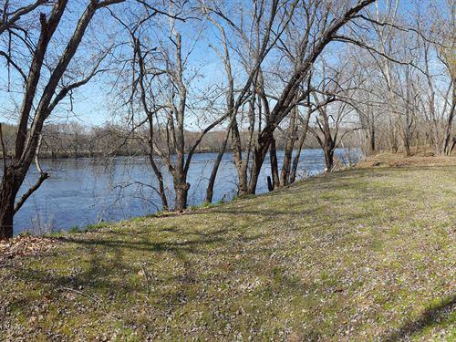 Riverfront- 18 Acres, Home, & Cabin : Buckingham : Virginia