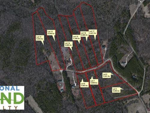 Rural Lots At Greystone Estates - L : Lancaster County : South Carolina