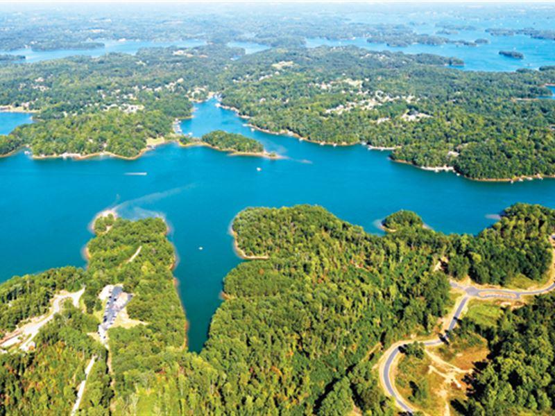 Lake Lots From Only $19,900 : Seneca : Oconee County : South Carolina