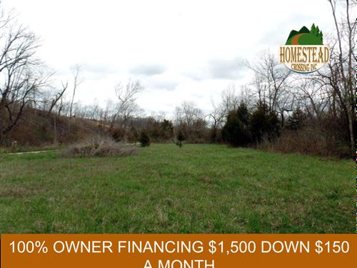 1 Acre With Building Site And Creek : Mountain Grove : Texas County : Missouri