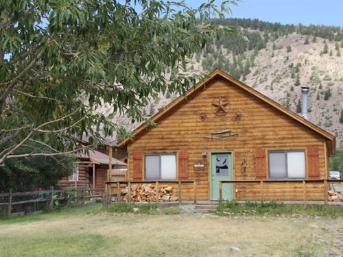Hotchkiss Street Cabin : Lake City : Hinsdale County : Colorado