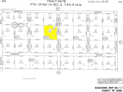 2.27 Acres In Rosamond, CA : Rosamond : Kern County : California