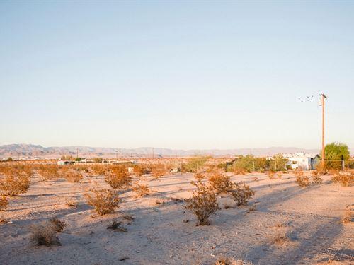 Wanna Get Away : Twentynine Palms : San Bernardino County : California