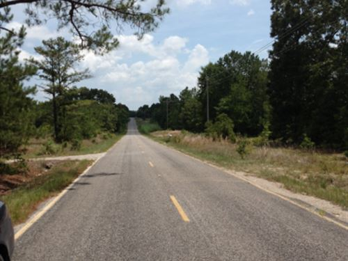 Beautiful Lee County, Sc Homesite : Bishopville : Lee County : South Carolina