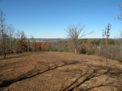 3 Ml Ac Home Site W Great Views : Bigelow : Perry County : Arkansas