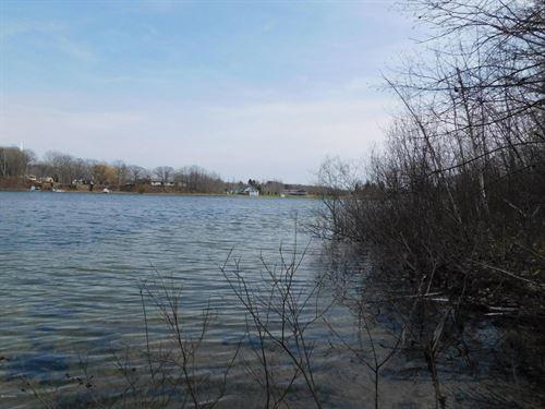Hopkins Lake Lots - 350' Frontage : Ludington : Mason County : Michigan