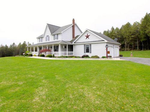 15+ Acres, Custom Built Home : Unitvyille : Lycoming County : Pennsylvania