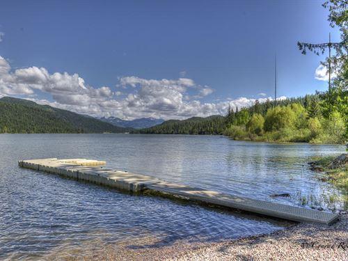 On The Shores Of Swan Lake : Bigfork : Lake County : Montana