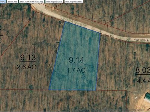 Lot 39 Is A 1.7 Acre Lot : Cedar Grove : Carroll County : Tennessee