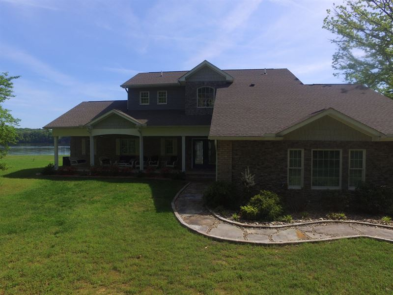 Amazing Cherokee Lake Front Home Lot For Sale