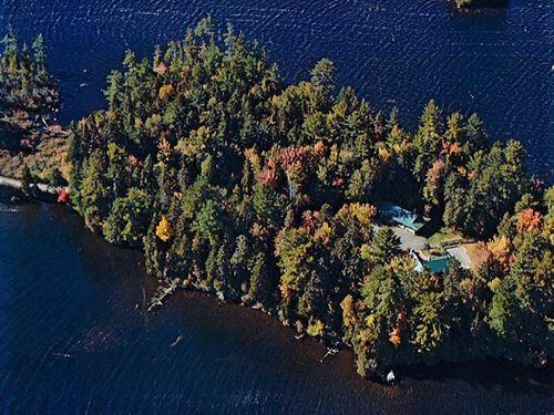 Schoodic Lake Peninsula Sanctuary : Brownville : Piscataquis County : Maine